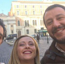 Salvini, Toti, Meloni: i sassi nello stagno